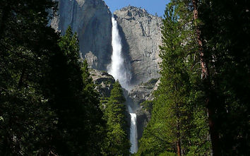 Йосемитский водопад ( Калифорния ).jpg