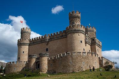Замок Мансанарес Эль-Реал, Испания.jpg