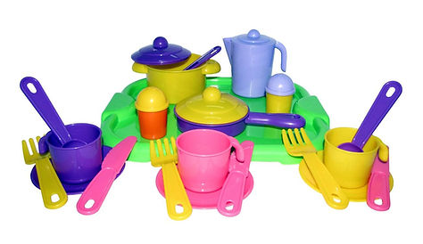пласмасовая посудка для развития и игры ребенка