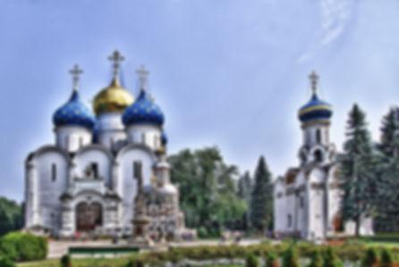 Сергиев Посад - собор Троице-Сергиевой л