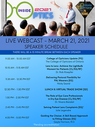 UpDated 0218 schedule IO LIVE WEBCAST -