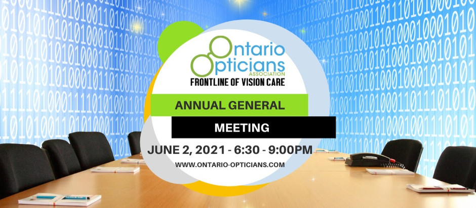 AGM 2021-June 2nd 2021