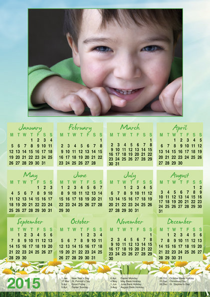 Calendar choice 8