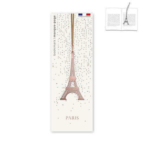 Marque-page en métal Tour Eiffel Cuivré