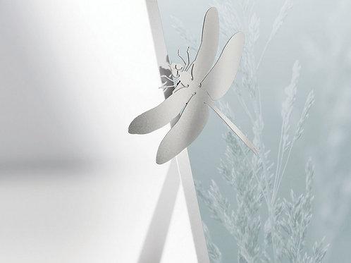 Porte-photo magnétique en métal avec pied  Libellule