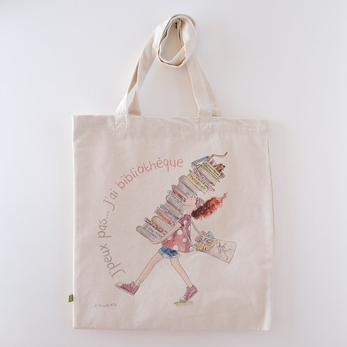 Tote bag - Bibliothèque