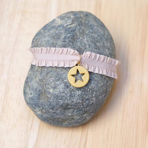 Bracelet  Médaille étoile