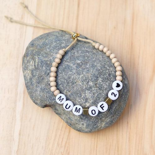 Bracelet Mum of 2