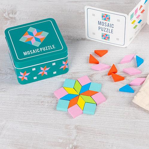Puzzle Mosaïque Bois