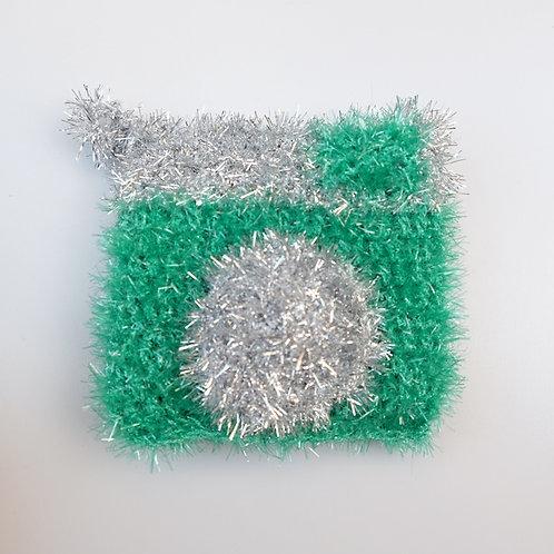 Tawashi - Appareil photo vert et argenté