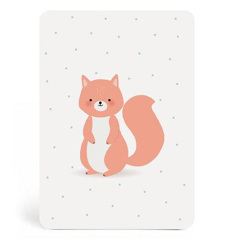 Carte Ecureuil