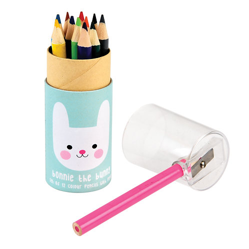 Crayons de Couleur Lapin bleu
