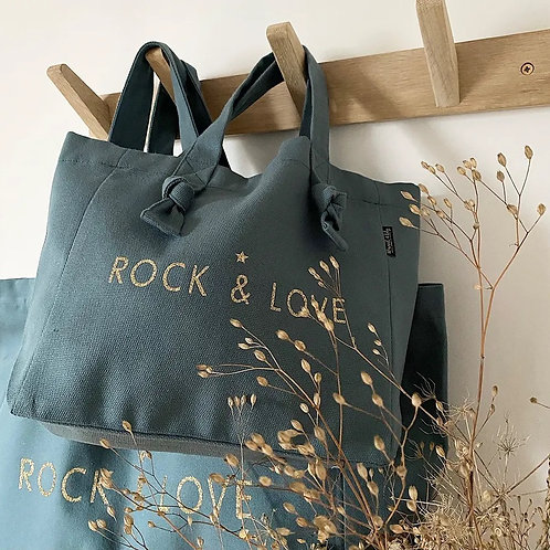 Mini cabas Eucalyptus - Rock and Love