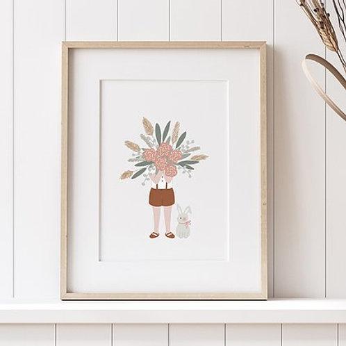 Affiche - Le gros bouquet