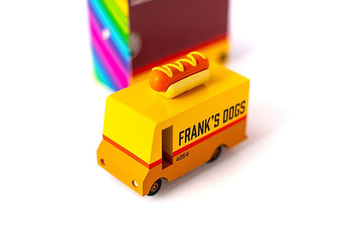 "Van Hot-Dog - Foodtruck spécial ""hot dog"""