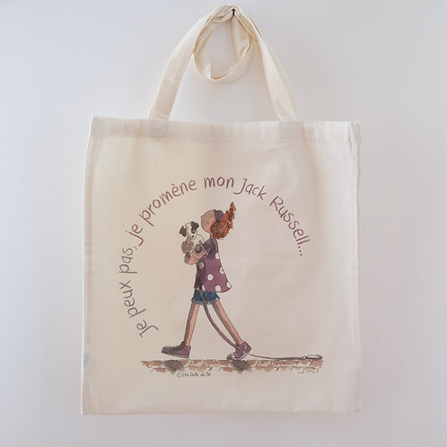 Tote bag - Jack Russell