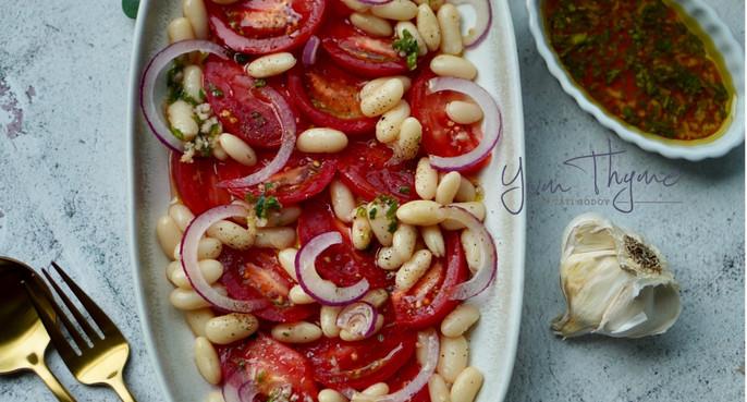 Cannellini White Bean Salad