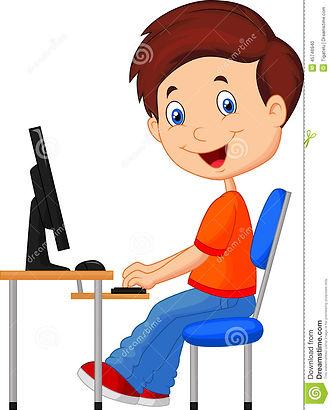 criança-dos-desenhos-animados-com-comput