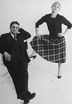 """Fellini, Federico, """"Dolce Vita"""", Julieta, Masina, Giulietta, """"cine italiano"""", Mastroianni, Fontana di Trevi, Roma"""