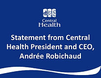 Statement from President and CEO regardi