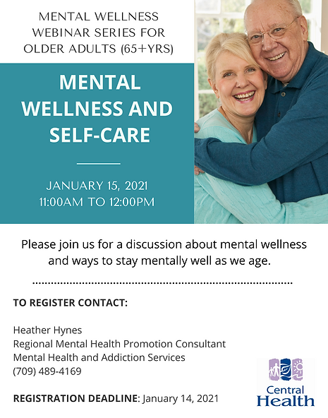 Session 1 - Mental Wellness and Self-Car