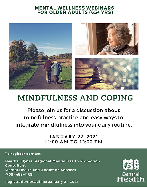 Session 2 - Mindfulness and Coping (Jan