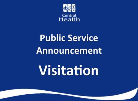 Visitation Increases at Central Health Facilities