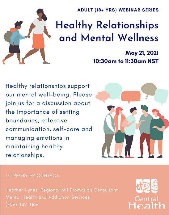 Healthy Relationships and Mental Wellnes