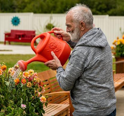 Resident Garden, Lewisporte Health Centre