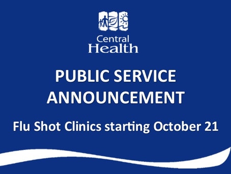 Flu Shots Available by Appointment Only Starting This Week