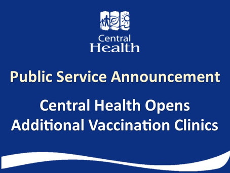 Central Health Opens Additional Vaccination Clinics