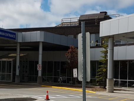 James Paton Memorial Regional Health Centre (JPMRHC) to light canopy signage