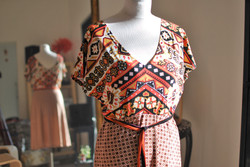 Robe Frida Kahlo Orange
