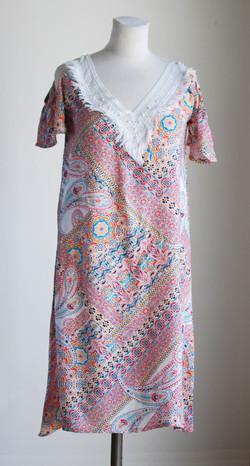 Robe franges 1