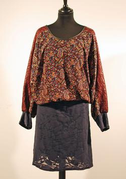 Robe blousante