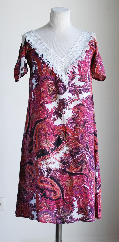 Robe franges 2