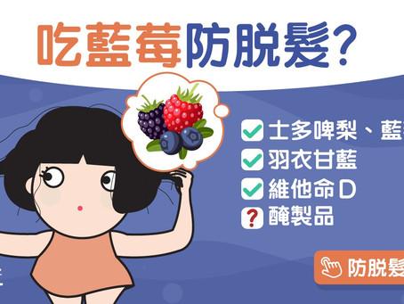 【脫髮】未老先衰4大脫髮類型 藍莓防脫髮生髮水認住呢個成分!