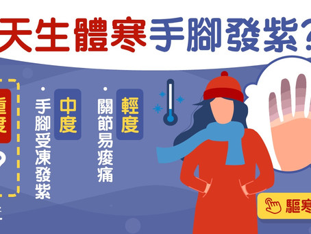 體寒養生|便秘尿頻皮膚乾體寒症狀 驅寒3大方法這樣按肚最簡單