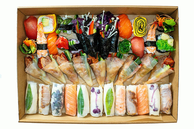 Combination Platter Boxed                                        (Free Delivery)