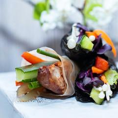 Peking Duck and Sushi 1