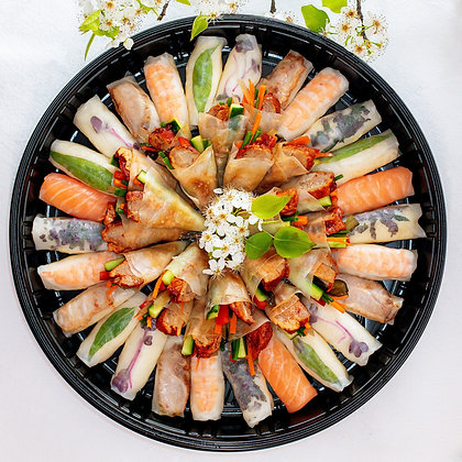 Oriental Platter Large  -   Circular                             (Free Delivery)