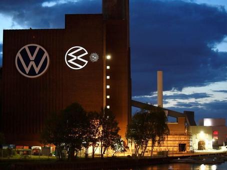Volkswagen si trasforma in Pac-man mangia il coronavirus