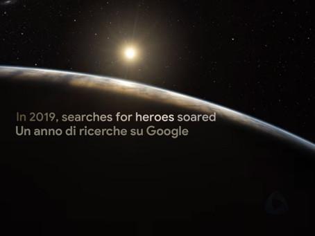 2019 un anno di ricerche su Google in Italia: Nadia Toffa e Notre Dame tra le parole emergenti