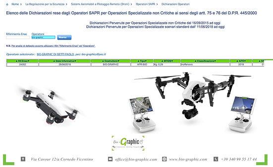 bio-graphic riprese video con drone per aziende ed eventi vicenza cornedo vicentino