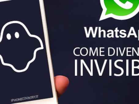 Come diventare invisibili su WhatsApp..