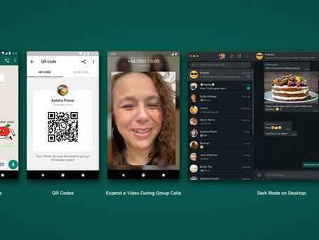 WhatsApp si aggiorna con sticker animati, QR code e nuove funzionalità