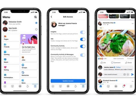 Nuovo design per le pagine Facebook, ecco cosa cambierà