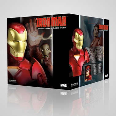 SIDESHOW COLLECTIBLES: MARVEL IRON MAN BUST