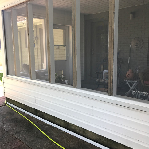 Screened Porch  |  BEFORE