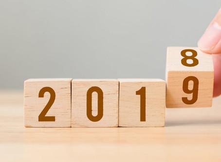 Pronti per il 2019. Sempre un passo avanti.